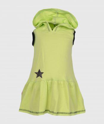 Everyday Swirling  Lemon Dress