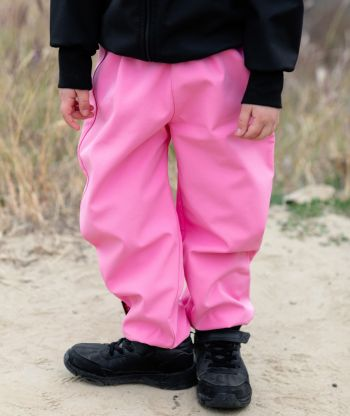 Waterproof Softshell Pants Candy Pink