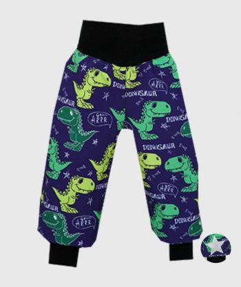 Waterproof Softshell Pants Dino Dark Blue