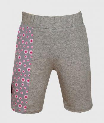 Short Pants Pockets Little Flowers