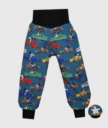 Waterproof Softshell Pants Racing Dogs